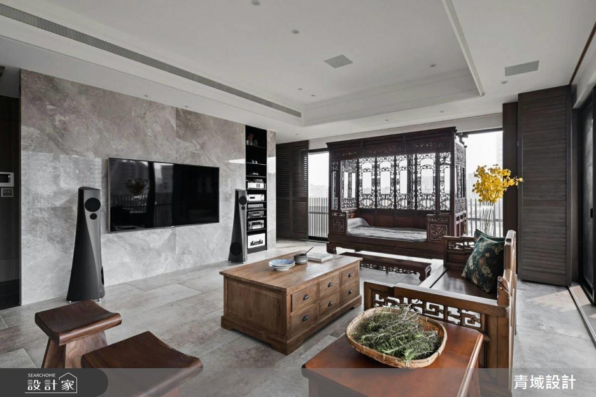 55坪新成屋(5年以下)_現代風客廳案例圖片_青域設計有限公司_青域_17之2