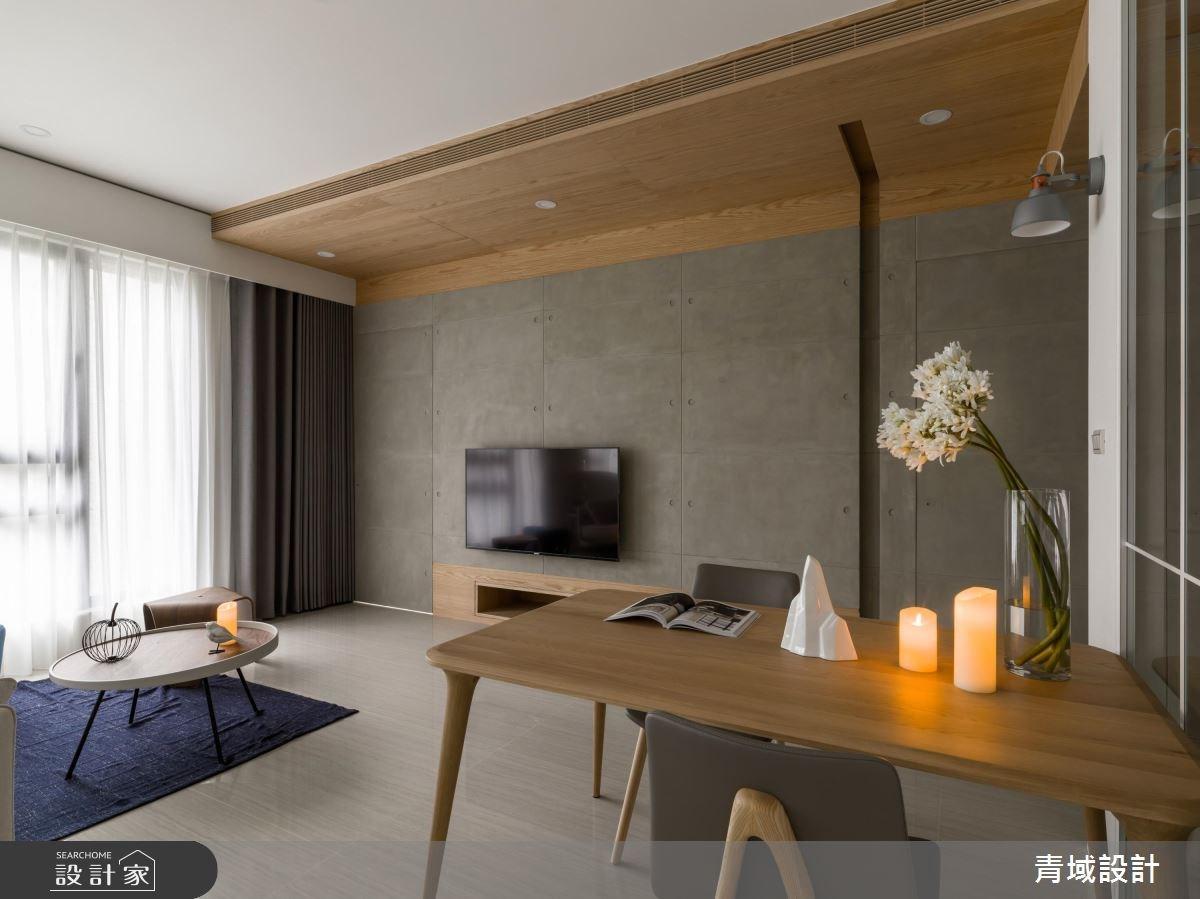 30坪新成屋(5年以下)_簡約風餐廳案例圖片_青域設計有限公司_青域_22之4