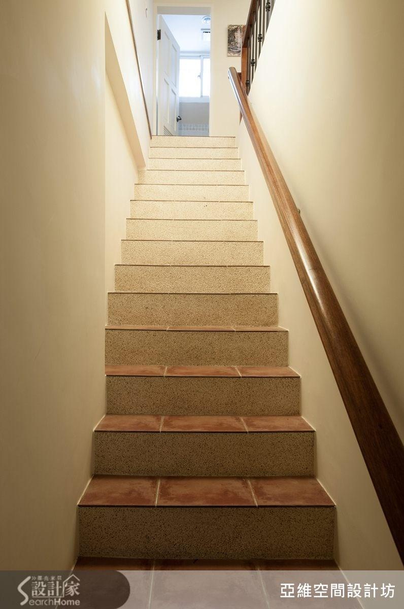 72坪中古屋(5~15年)_混搭風樓梯案例圖片_亞維空間設計_亞維_01之1