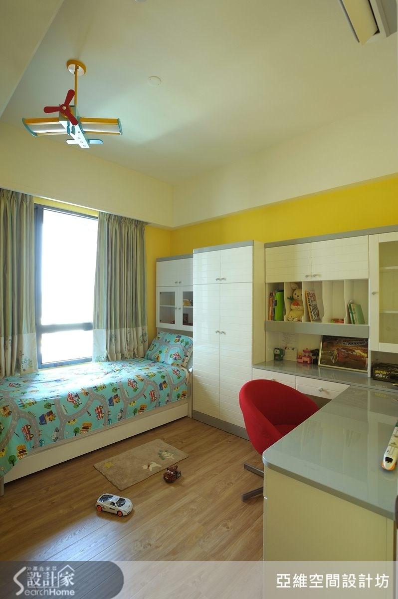 36坪新成屋(5年以下)_美式風兒童房兒童房案例圖片_亞維空間設計_亞維_03之21