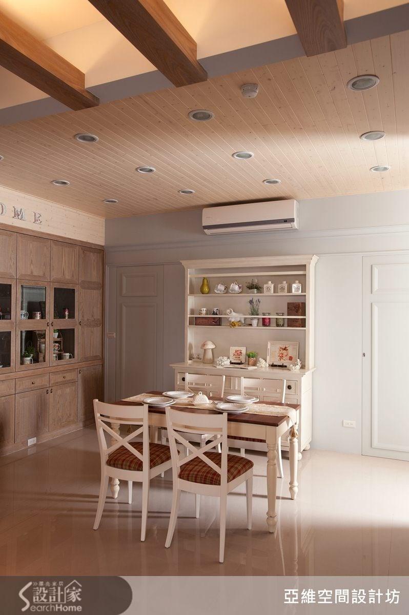 41坪預售屋_鄉村風餐廳案例圖片_亞維空間設計_亞維_05之4