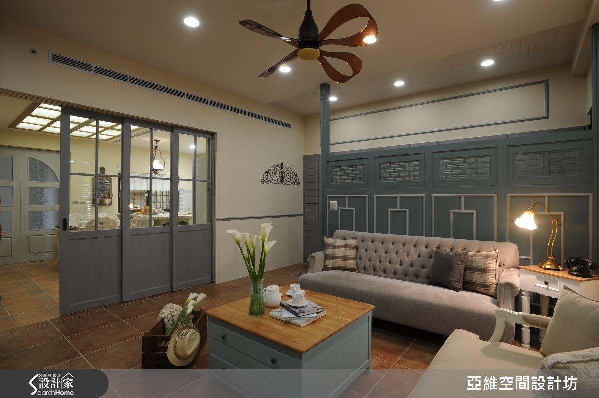 81坪新成屋(5年以下)_混搭風客廳案例圖片_亞維空間設計_亞維_17之2