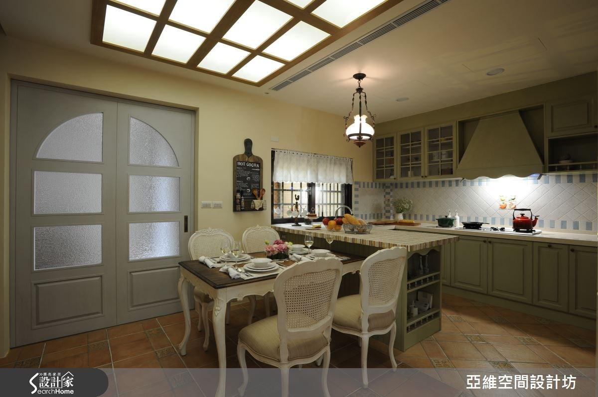 81坪新成屋(5年以下)_混搭風餐廳廚房吧檯案例圖片_亞維空間設計_亞維_17之3