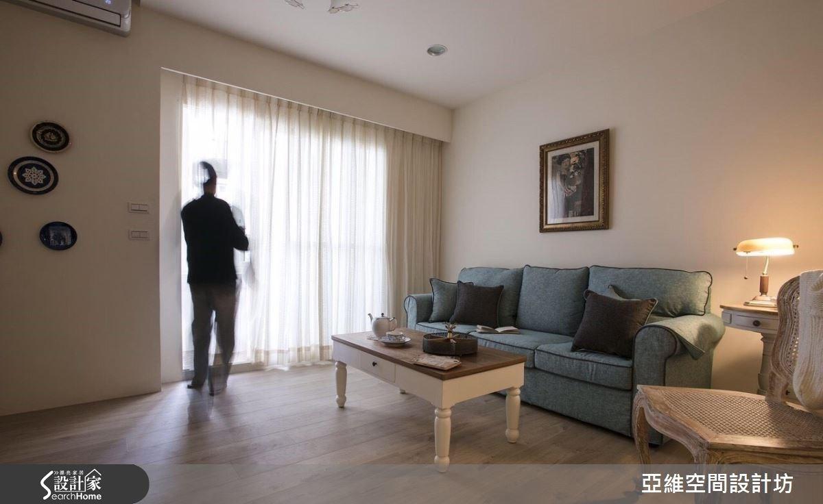 34坪老屋(16~30年)_混搭風客廳案例圖片_亞維空間設計_亞維_18之2