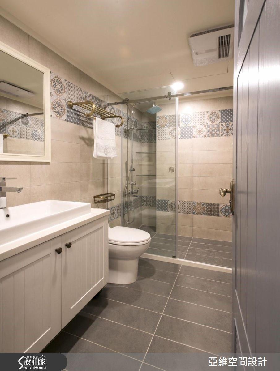 50坪老屋(16~30年)_鄉村風浴室案例圖片_亞維空間設計_亞維_22之11