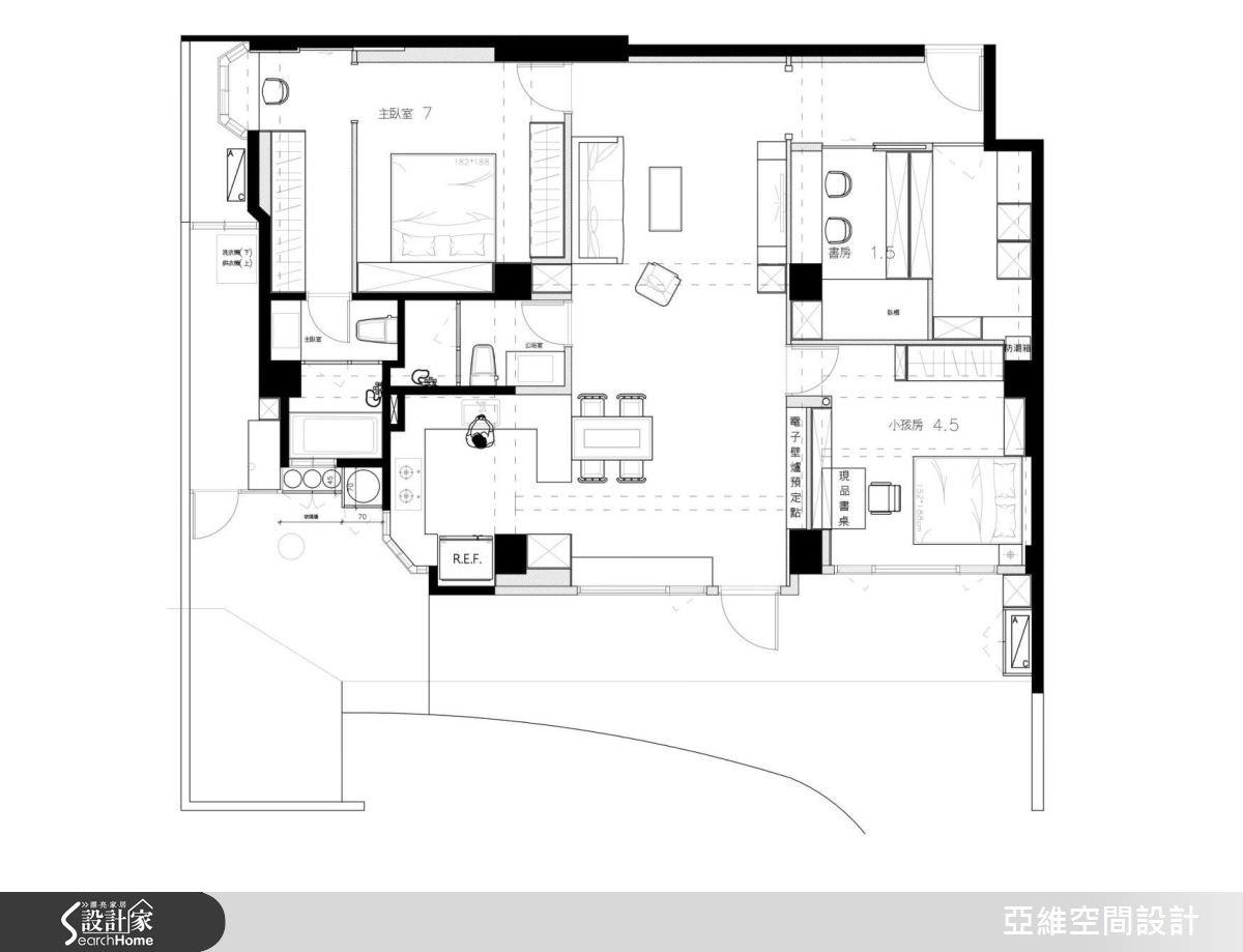 50坪老屋(16~30年)_鄉村風案例圖片_亞維空間設計_亞維_22之13