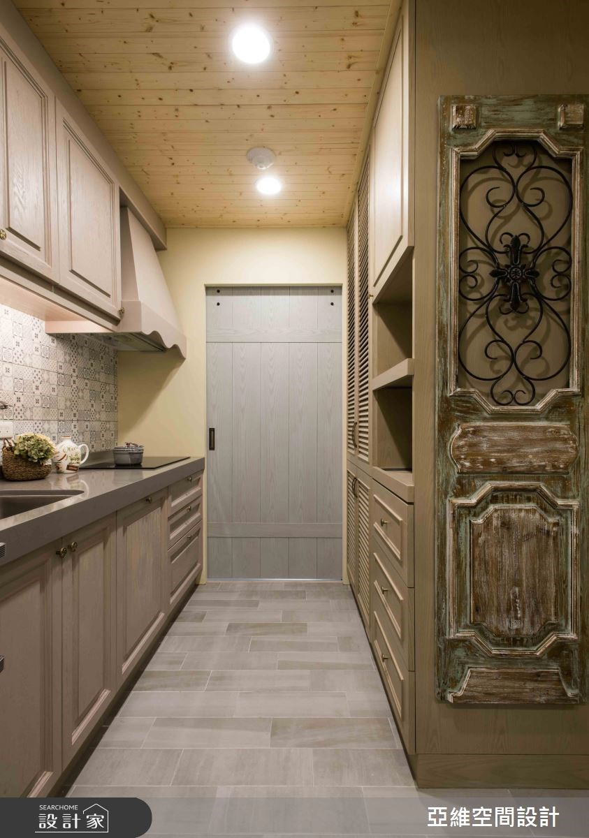 11坪新成屋(5年以下)_鄉村風廚房案例圖片_亞維空間設計_亞維_27之8
