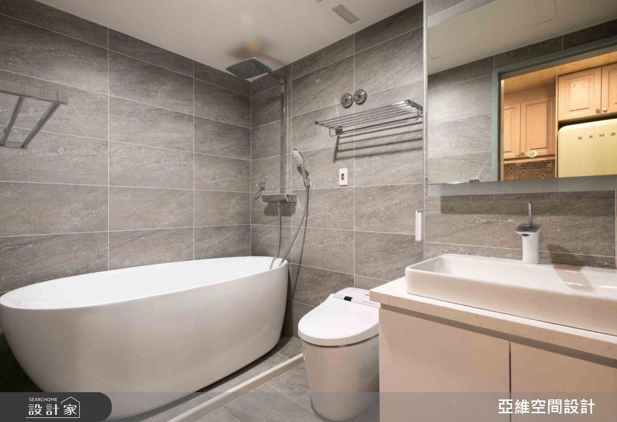 11坪新成屋(5年以下)_鄉村風浴室案例圖片_亞維空間設計_亞維_27之13