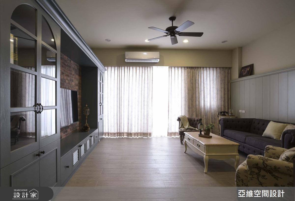 有形有色好設計,就在 75 坪鄉村風質感大宅!