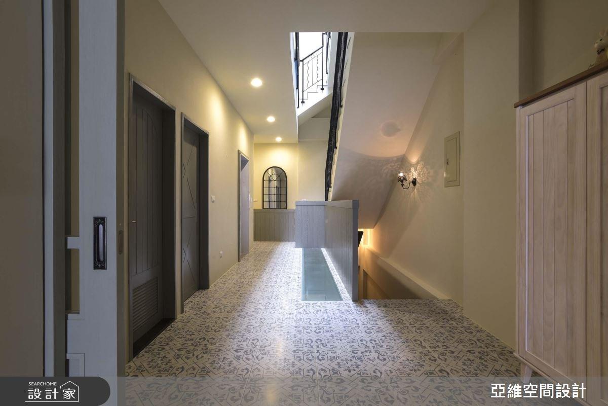 75坪新成屋(5年以下)_鄉村風走廊案例圖片_亞維空間設計_亞維_28之4