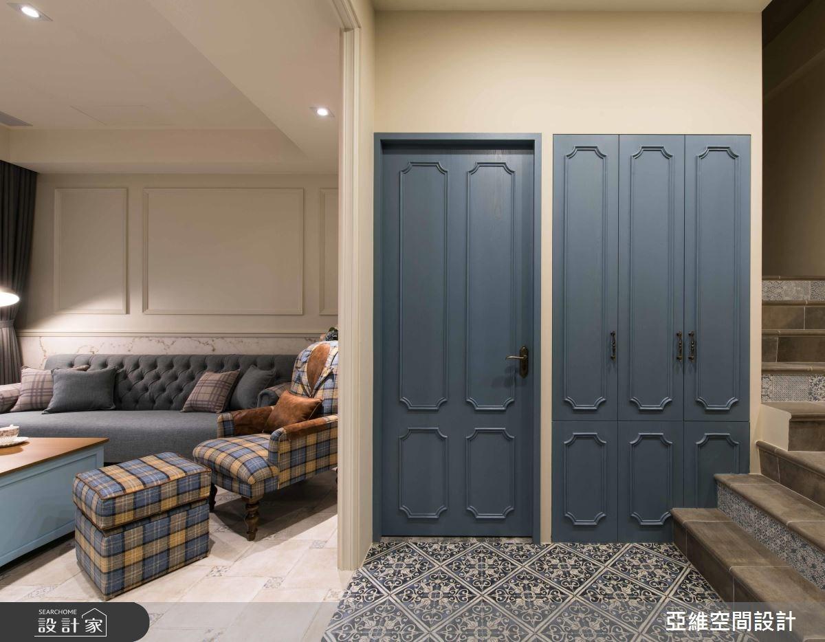 157坪新成屋(5年以下)_鄉村風客廳案例圖片_亞維空間設計_亞維_30之3