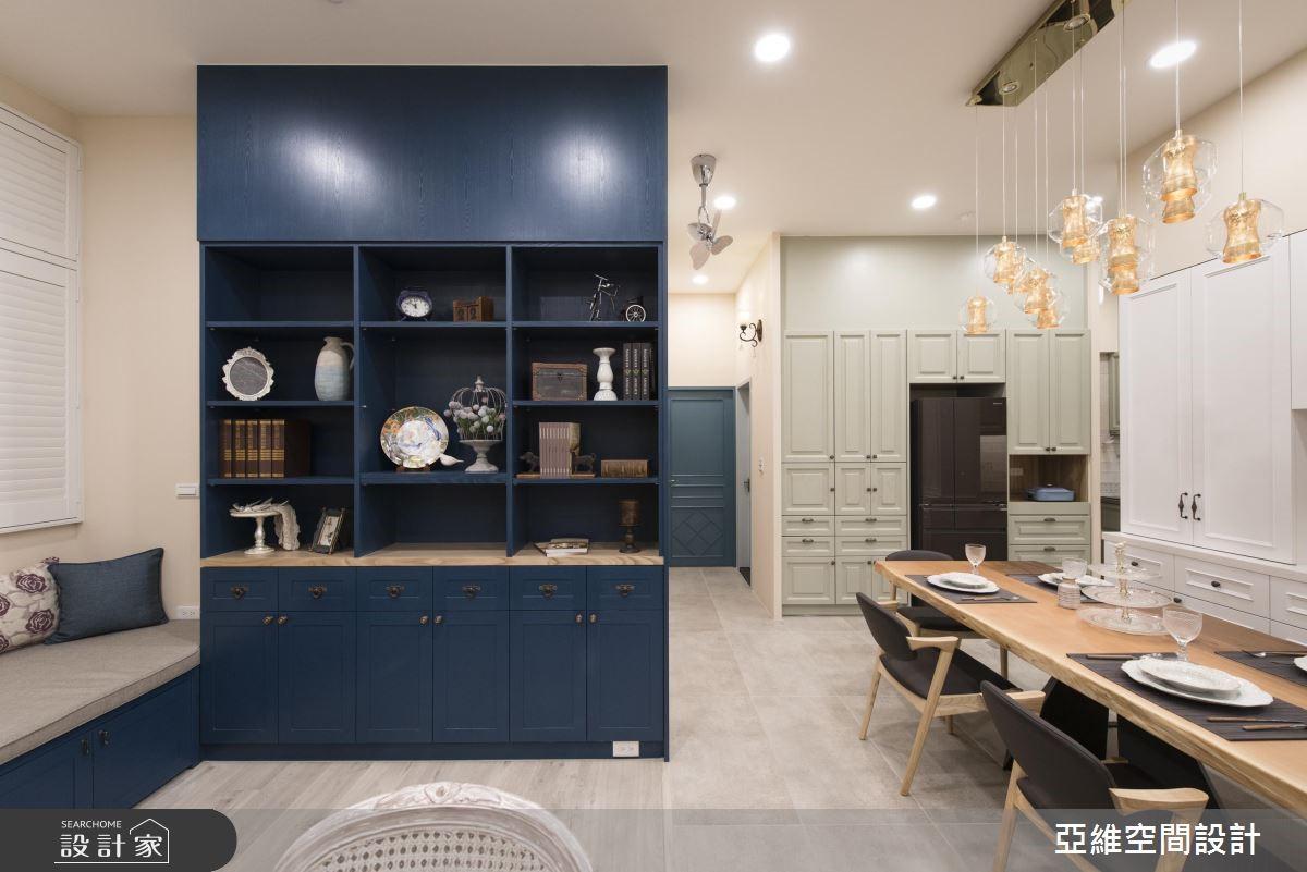 35坪新成屋(5年以下)_美式風餐廳案例圖片_亞維空間設計_亞維_34之4