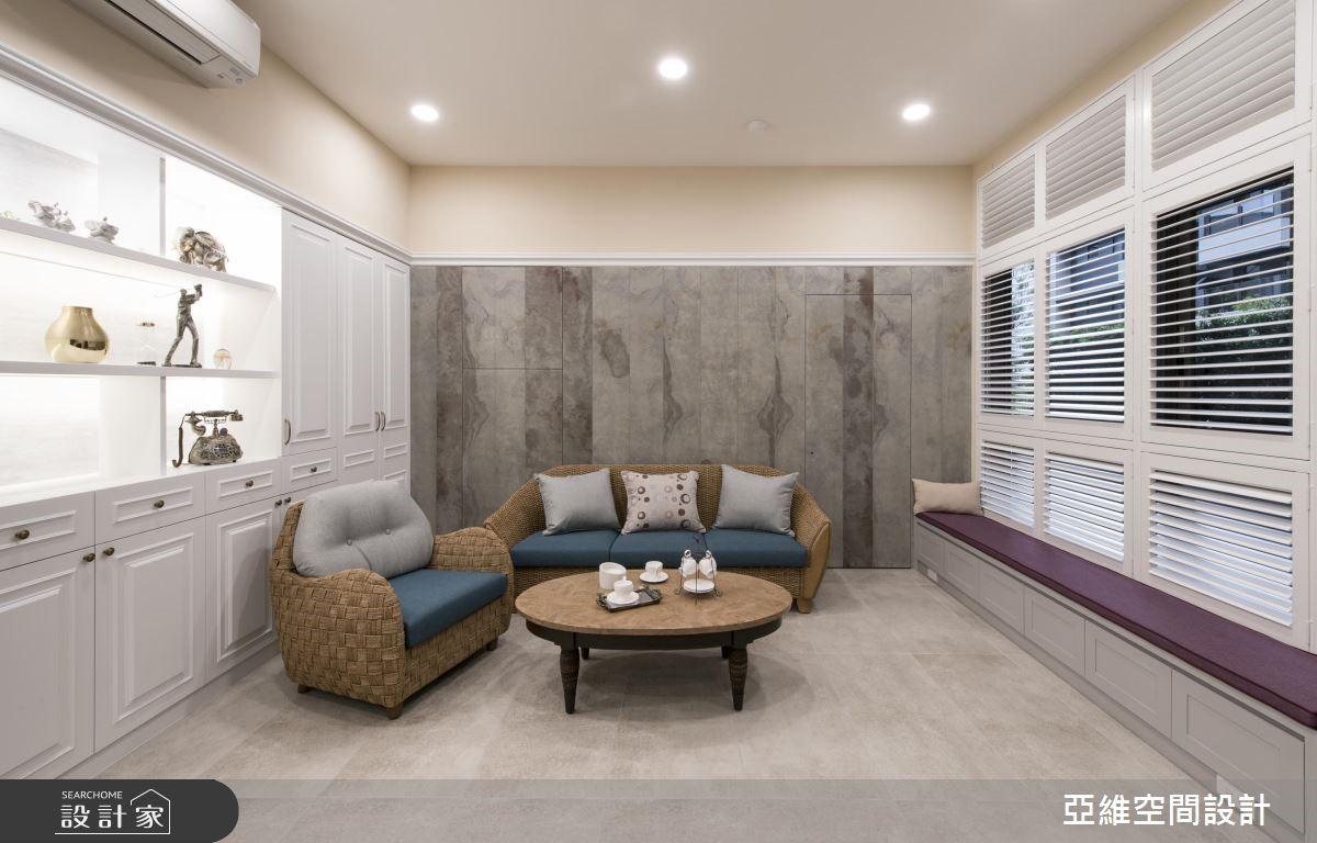 35坪新成屋(5年以下)_美式風客廳案例圖片_亞維空間設計_亞維_34之2