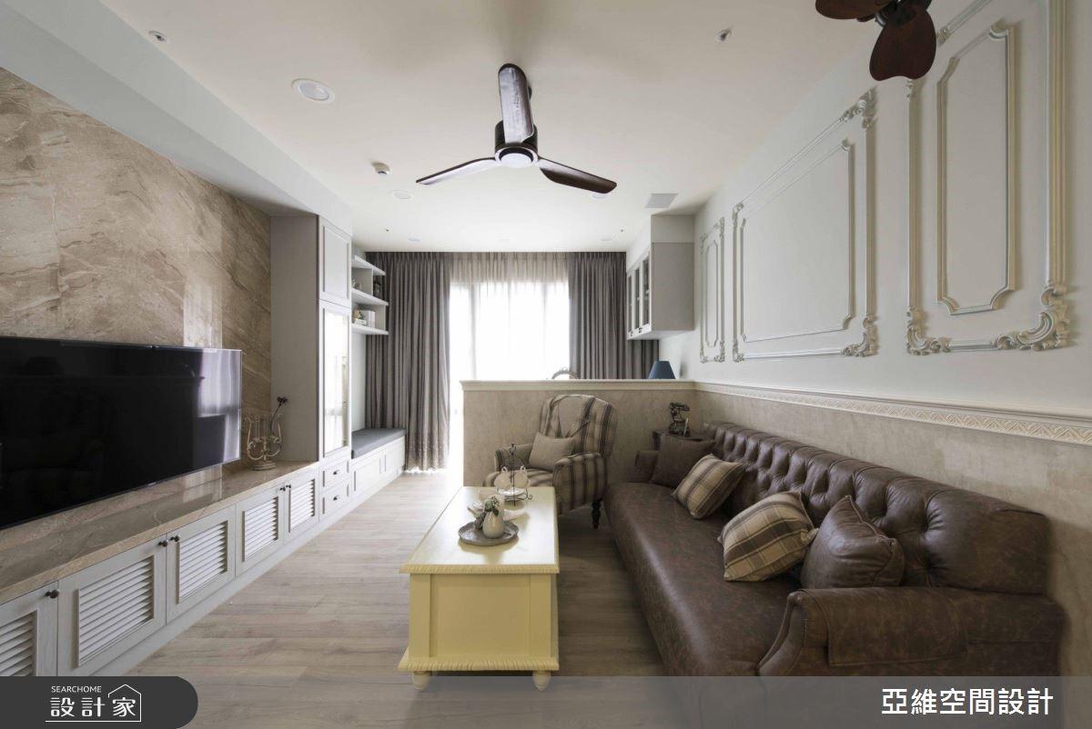 40坪新成屋(5年以下)_鄉村風案例圖片_亞維空間設計_亞維_35之3