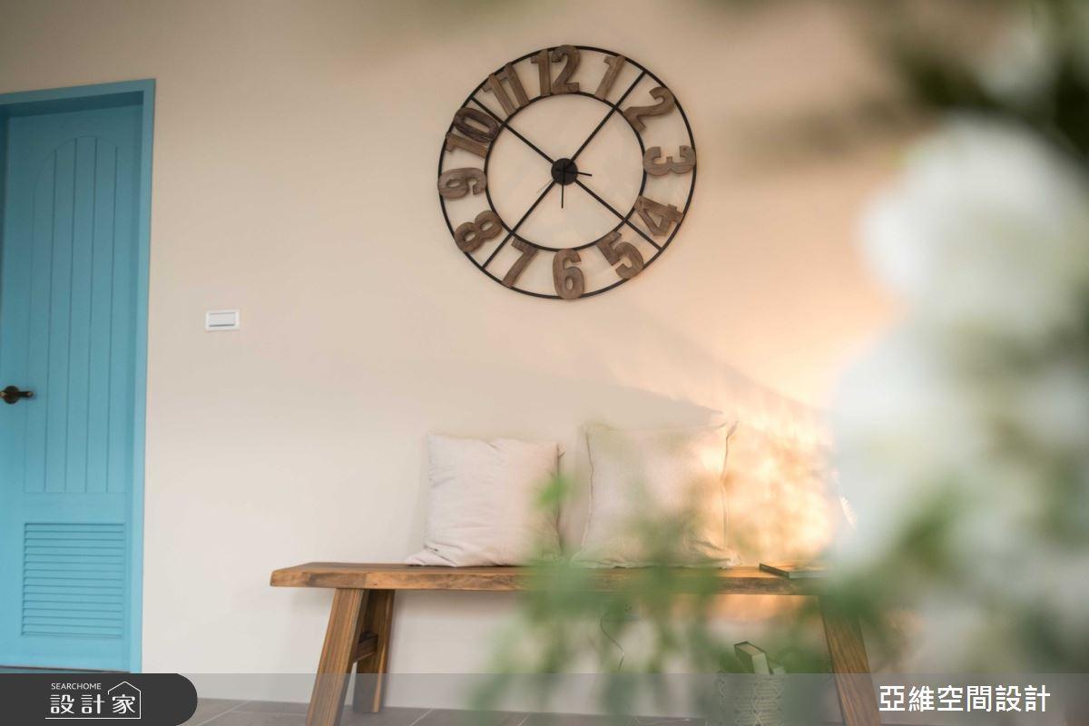 200坪中古屋(5~15年)_鄉村風玄關案例圖片_亞維空間設計_亞維_紳士品格之1