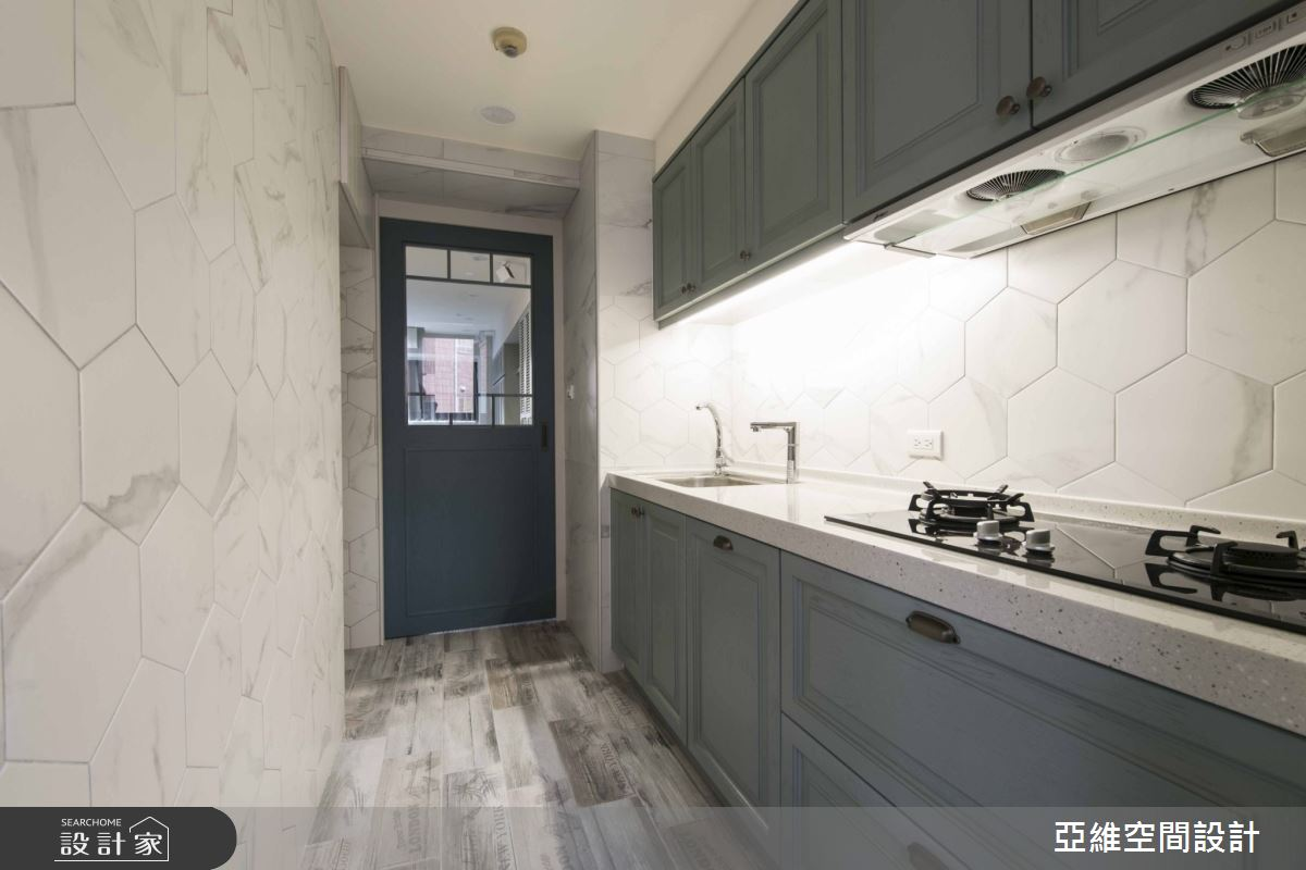 23坪中古屋(5~15年)_混搭風廚房案例圖片_亞維空間設計_亞維_明朗風範之14