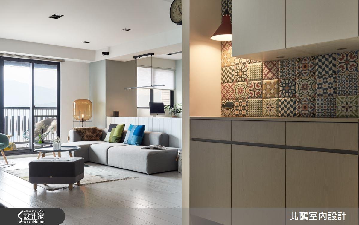 45坪新成屋(5年以下)_北歐風玄關案例圖片_北鷗室內設計_北鷗_15XC House之2