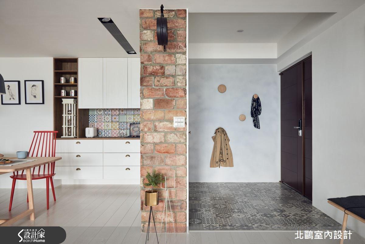 45坪新成屋(5年以下)_北歐風玄關案例圖片_北鷗室內設計_北鷗_15XC House之3