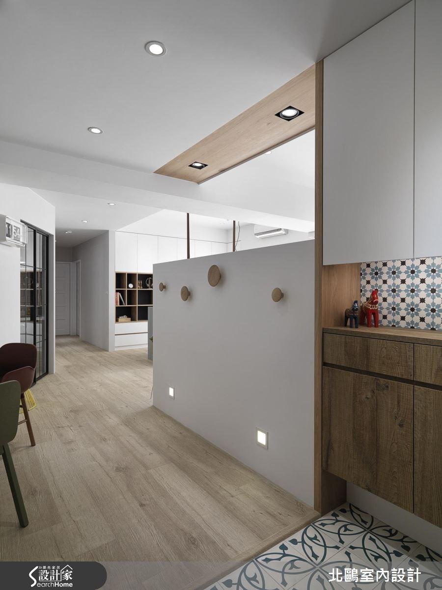 30坪新成屋(5年以下)_北歐風玄關案例圖片_北鷗室內設計_北鷗_16之1
