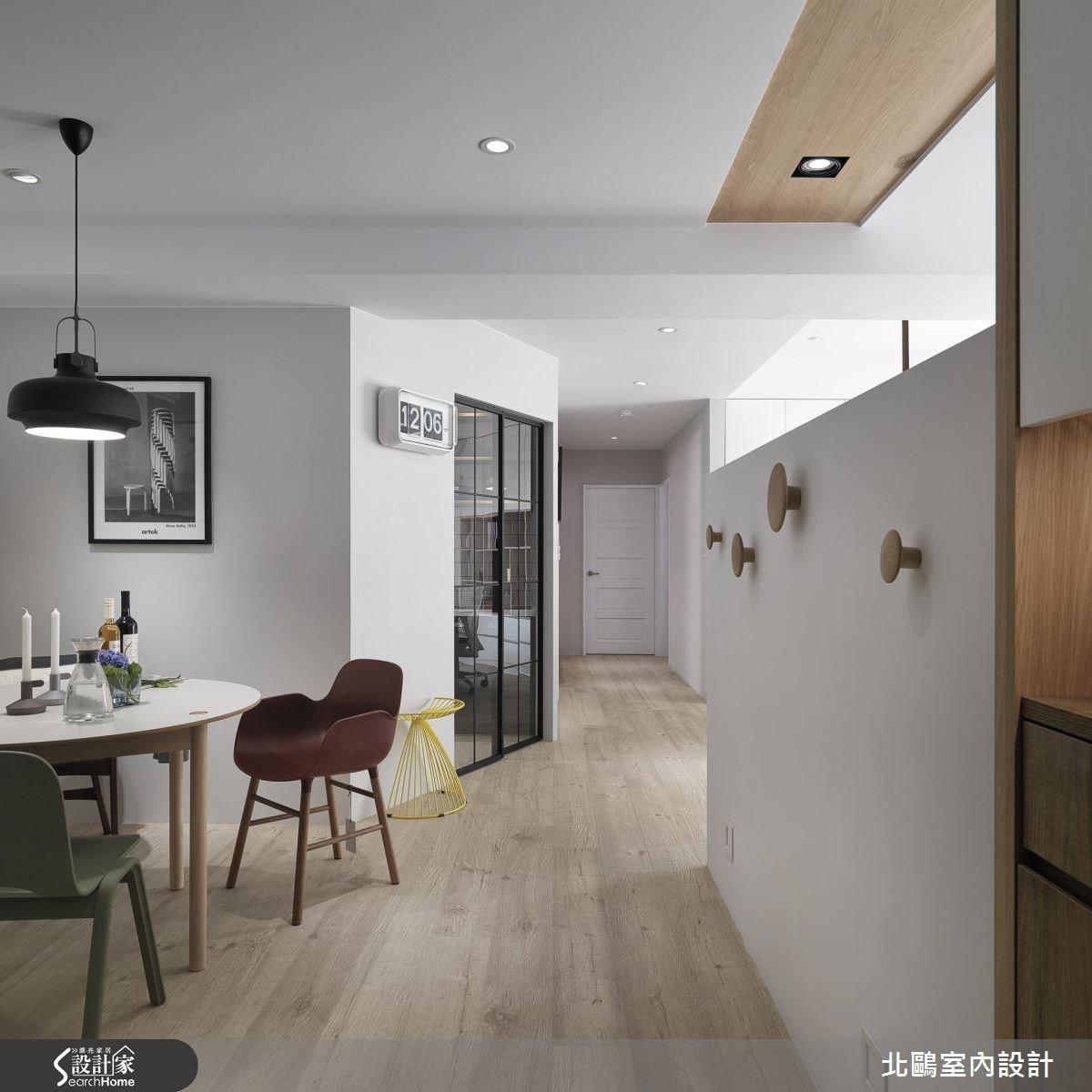 30坪新成屋(5年以下)_北歐風餐廳案例圖片_北鷗室內設計_北鷗_16之2