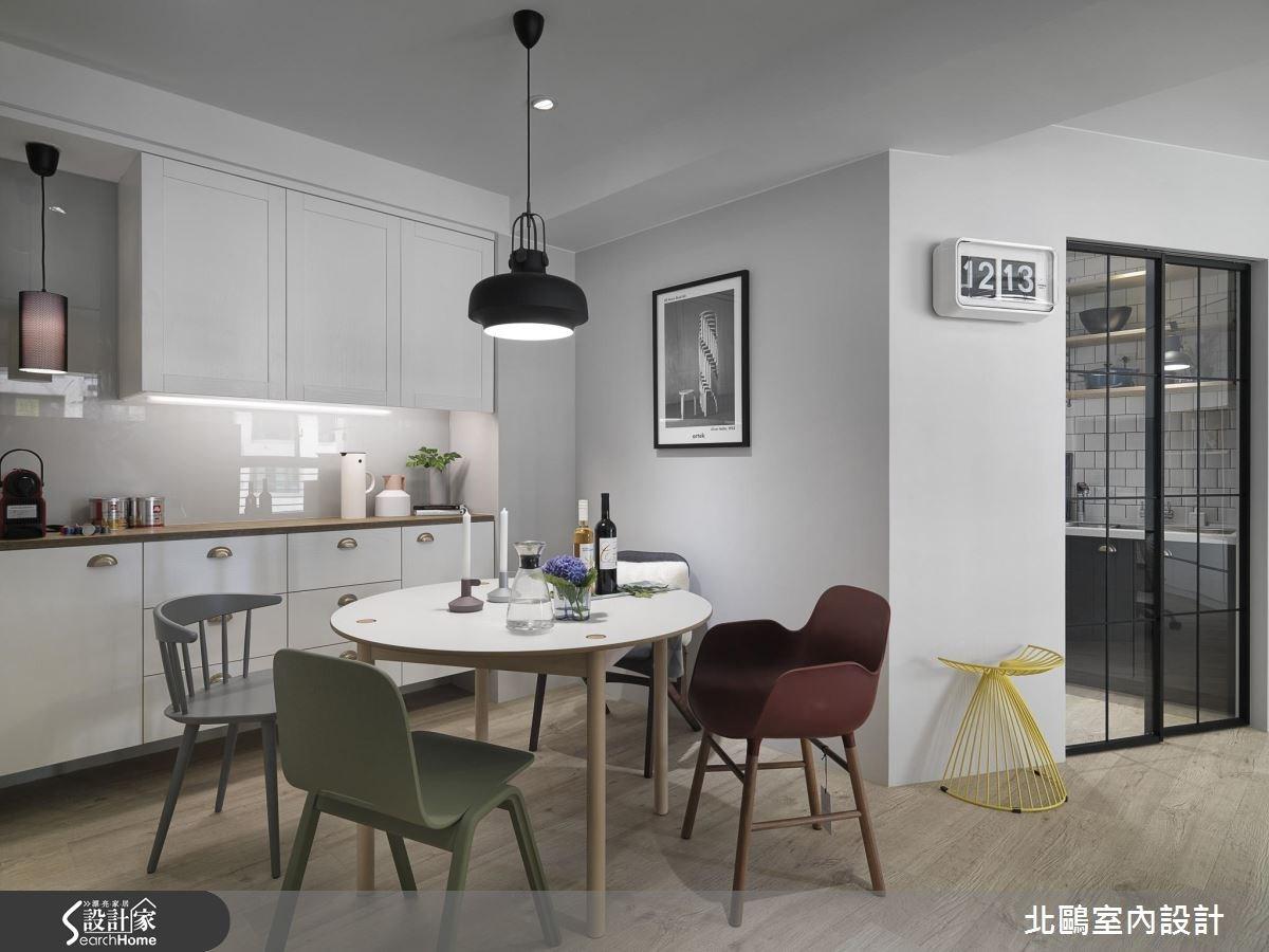 30坪新成屋(5年以下)_北歐風餐廳案例圖片_北鷗室內設計_北鷗_16之3