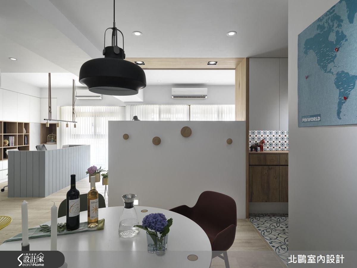 30坪新成屋(5年以下)_北歐風餐廳案例圖片_北鷗室內設計_北鷗_16之4