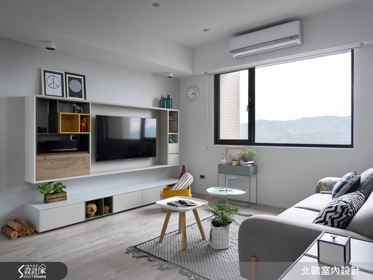 30坪新成屋(5年以下)_北歐風客廳案例圖片_北鷗室內設計_北鷗_18Harvard House之3