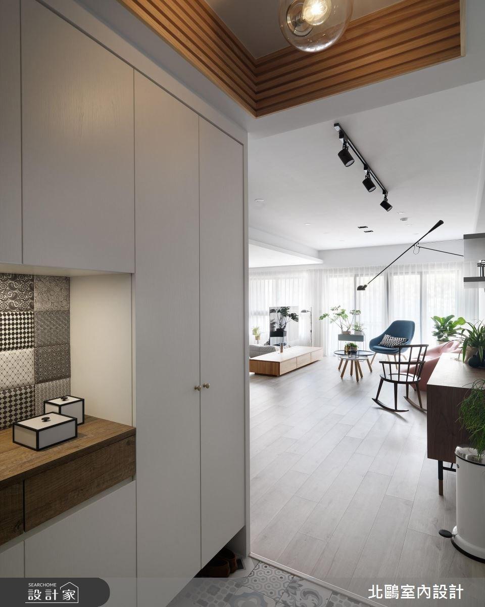 35坪新成屋(5年以下)_北歐風玄關案例圖片_北鷗室內設計_北鷗_19Warm House之1