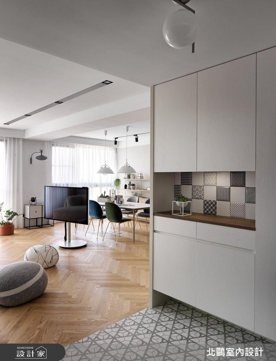48坪新成屋(5年以下)_北歐風玄關案例圖片_北鷗室內設計_北鷗_22之1