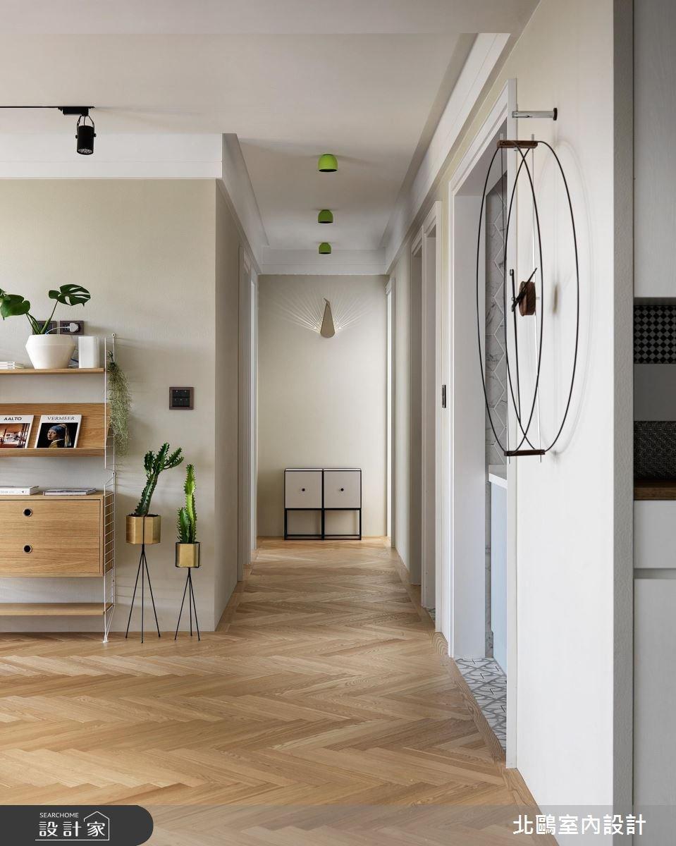 48坪新成屋(5年以下)_北歐風走廊案例圖片_北鷗室內設計_北鷗_22之3