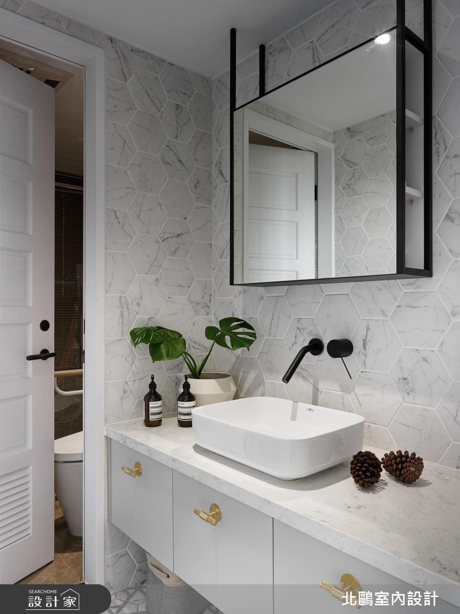 48坪新成屋(5年以下)_北歐風浴室案例圖片_北鷗室內設計_北鷗_22之28