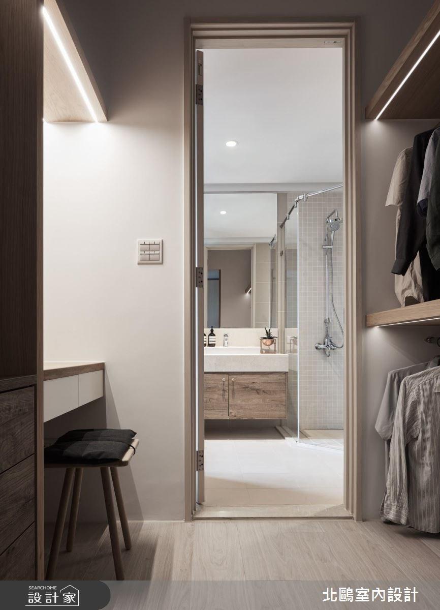40坪新成屋(5年以下)_北歐風更衣間案例圖片_北鷗室內設計_北鷗_23 J16 House之30