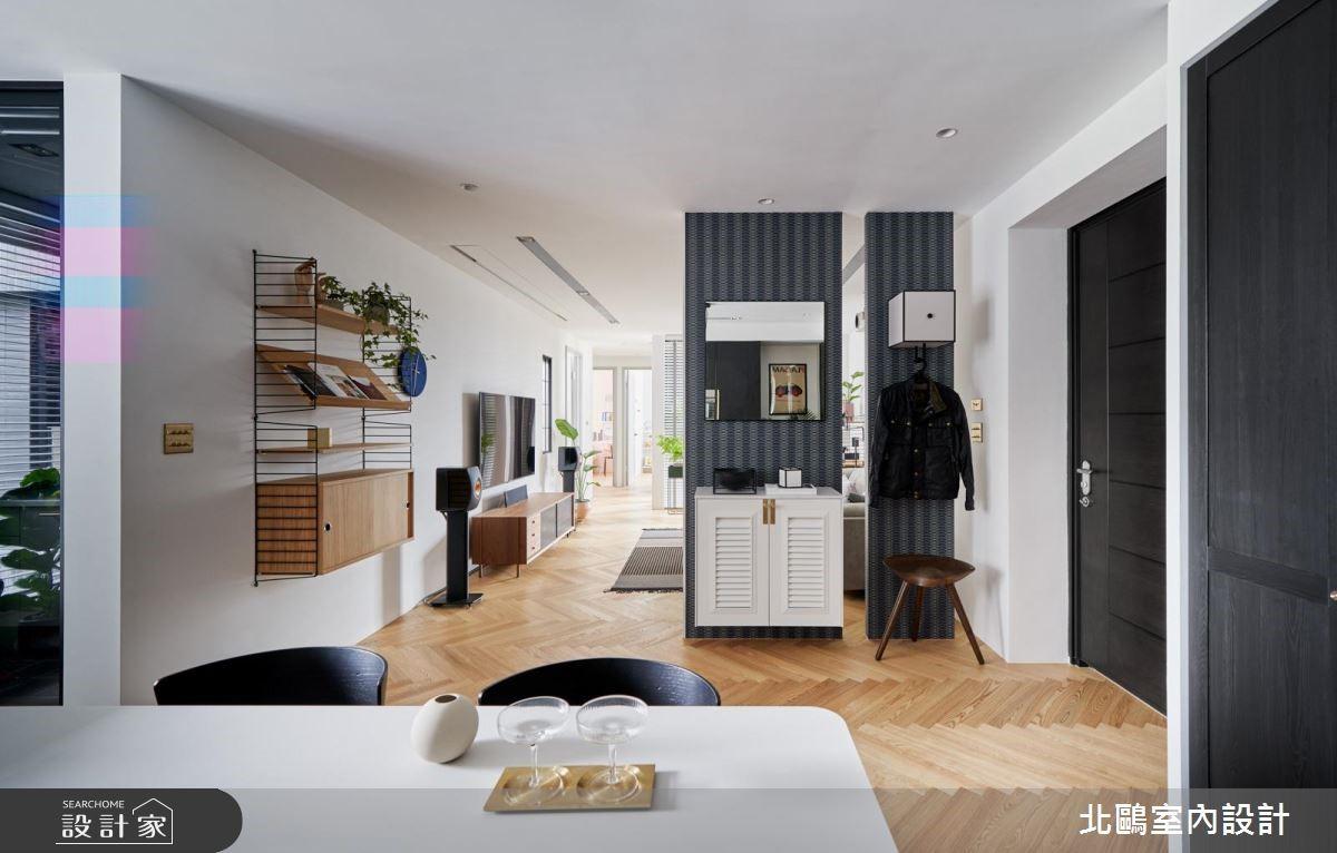 30坪新成屋(5年以下)_北歐風餐廳案例圖片_北鷗室內設計_北鷗_26Jeff House之2