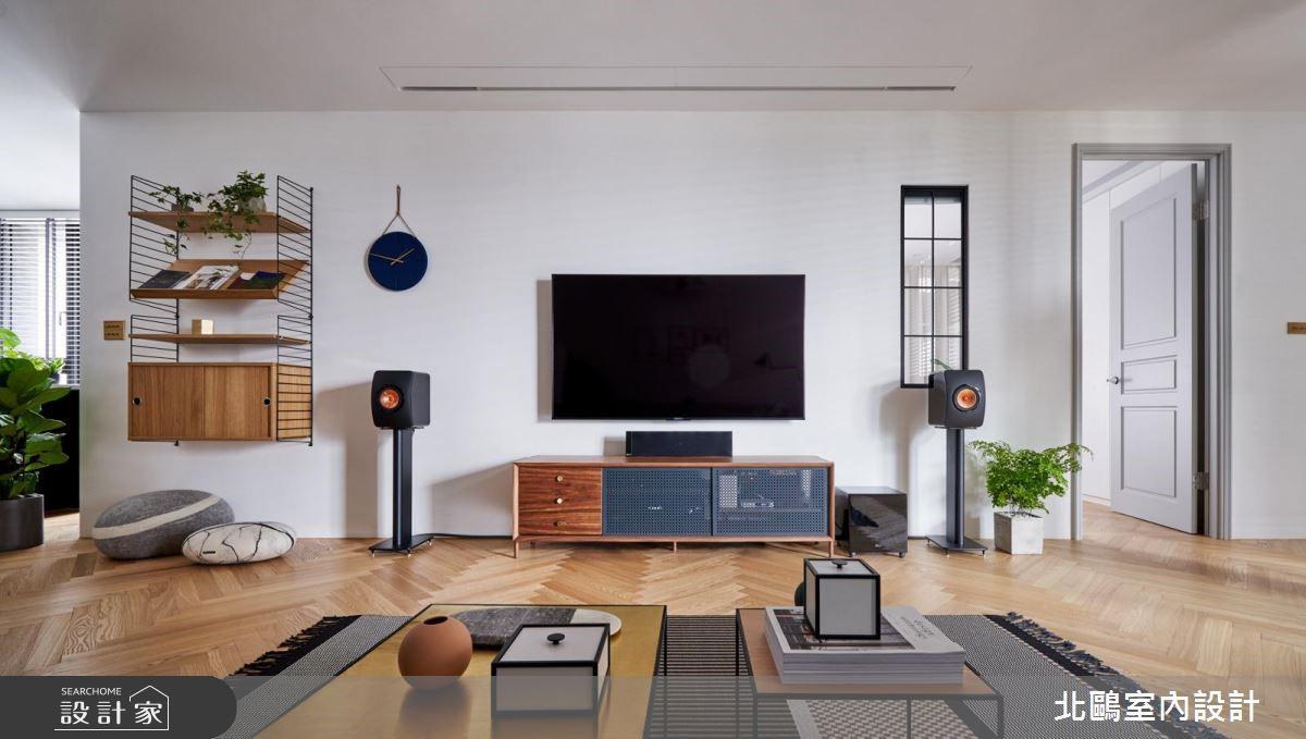 30坪新成屋(5年以下)_北歐風客廳案例圖片_北鷗室內設計_北鷗_26Jeff House之3
