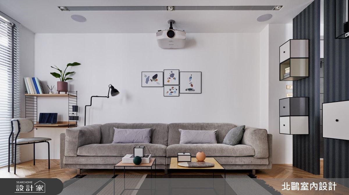 30坪新成屋(5年以下)_北歐風客廳案例圖片_北鷗室內設計_北鷗_26Jeff House之4