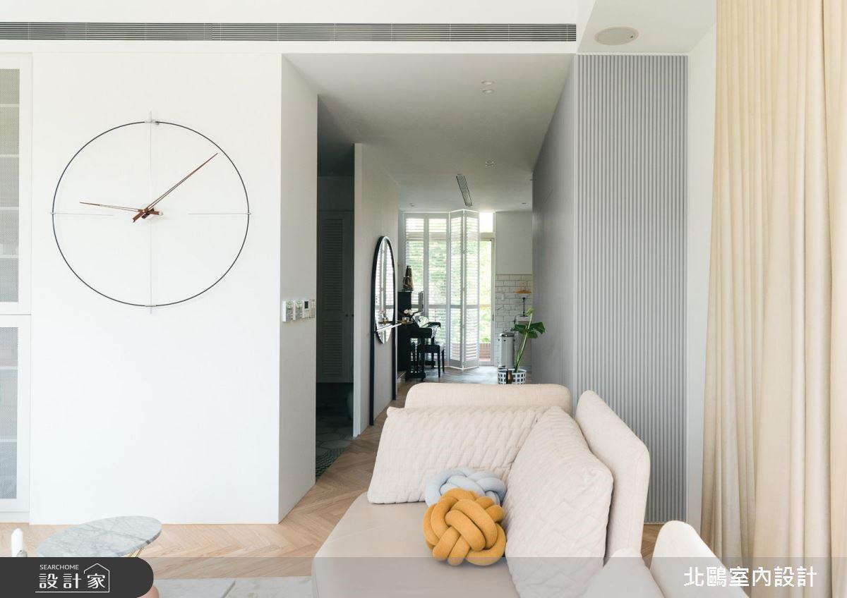 50坪新成屋(5年以下)_北歐風客廳案例圖片_北鷗室內設計_北鷗_27Blue Mountain House之3