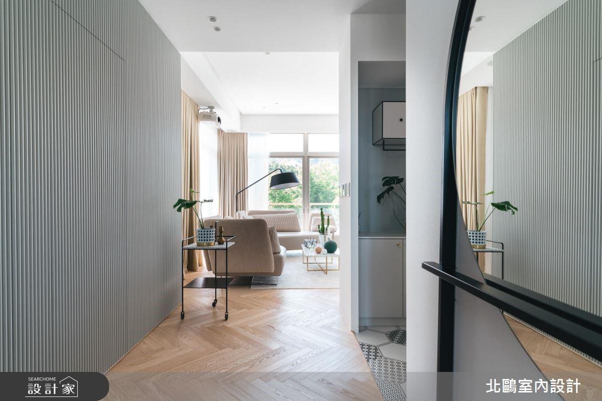 50坪新成屋(5年以下)_北歐風走廊案例圖片_北鷗室內設計_北鷗_27Blue Mountain House之2