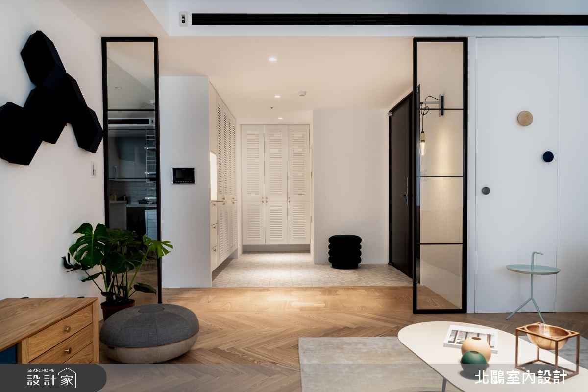 32坪新成屋(5年以下)_北歐風客廳案例圖片_北鷗室內設計_北鷗_28Shape House之3