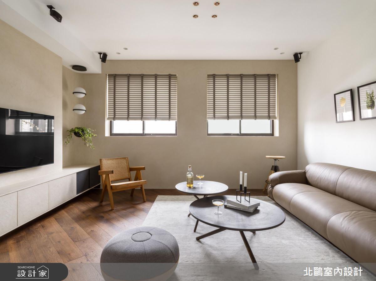 30坪新成屋(5年以下)_北歐風客廳案例圖片_北鷗室內設計_北鷗_29DCW House之4