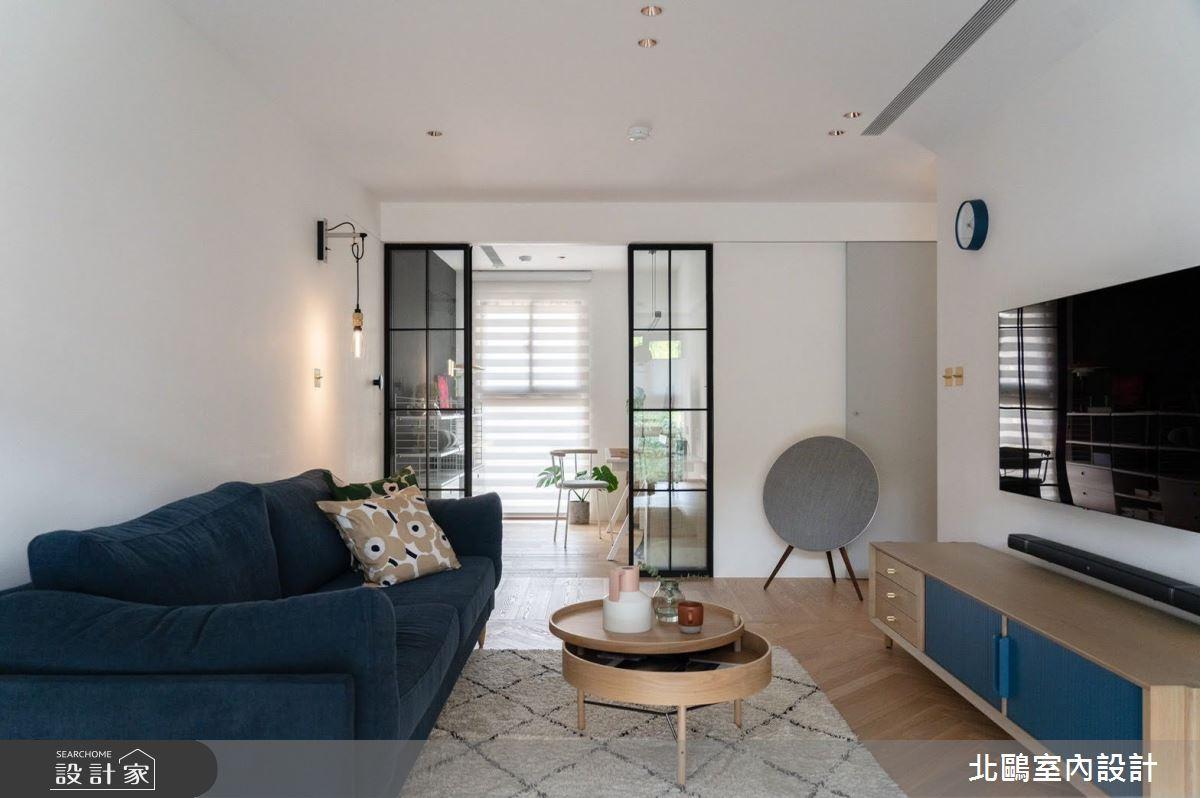 新成屋(5年以下)_北歐風客廳案例圖片_北鷗室內設計_北鷗_30之2