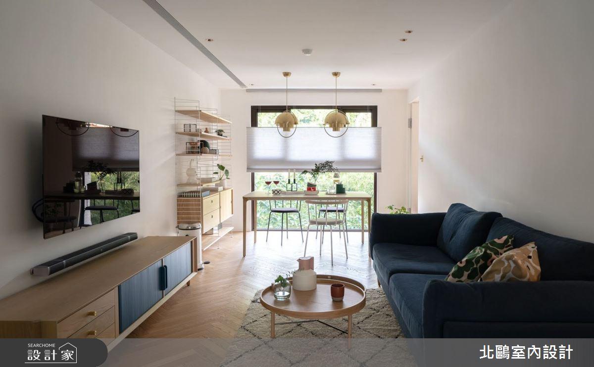新成屋(5年以下)_北歐風客廳案例圖片_北鷗室內設計_北鷗_30之4