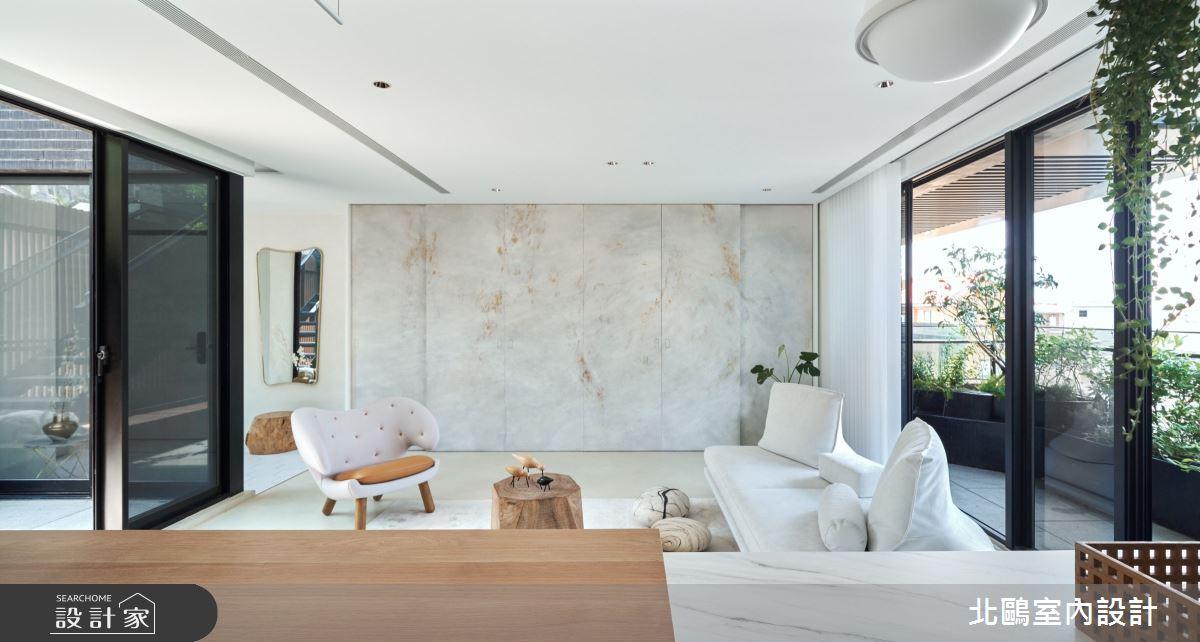 新成屋(5年以下)_北歐風客廳案例圖片_北鷗室內設計_北鷗_35Garden House之3