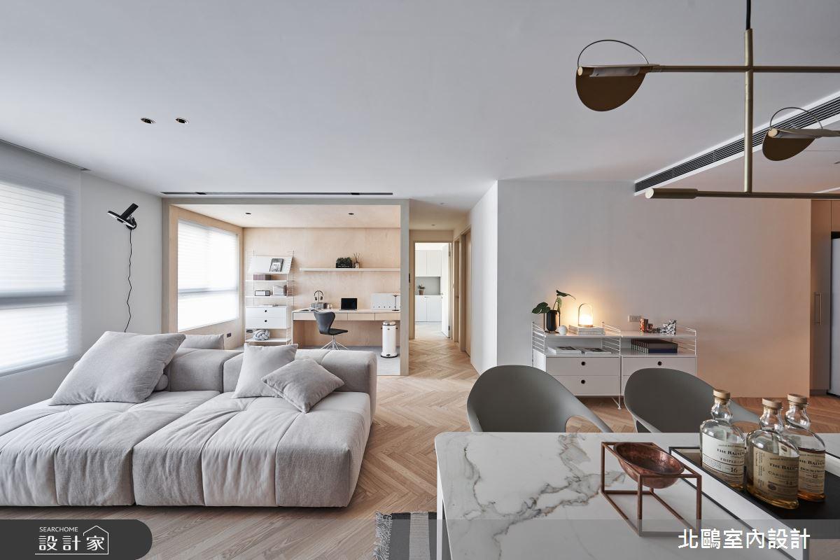 新成屋(5年以下)_北歐風客廳案例圖片_北鷗室內設計_北鷗_39Frame House之2