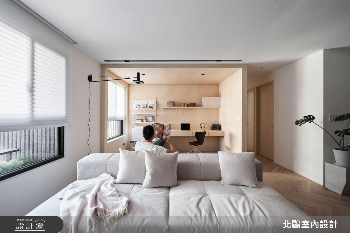 新成屋(5年以下)_北歐風客廳案例圖片_北鷗室內設計_北鷗_39Frame House之4