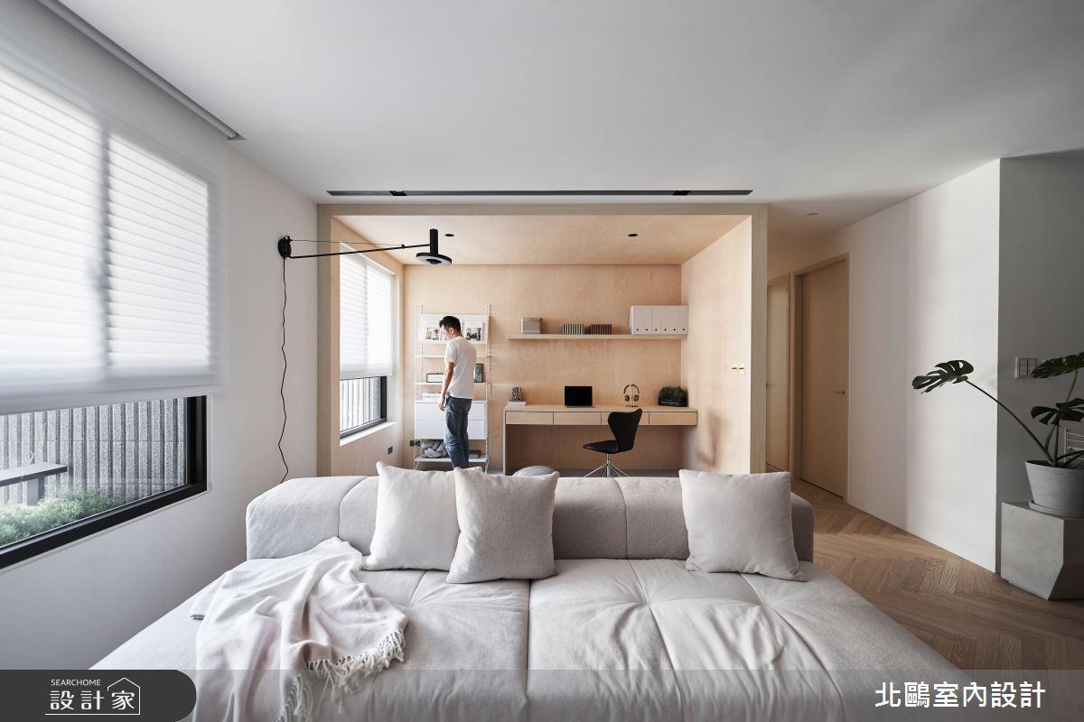新成屋(5年以下)_北歐風客廳案例圖片_北鷗室內設計_北鷗_39Frame House之5