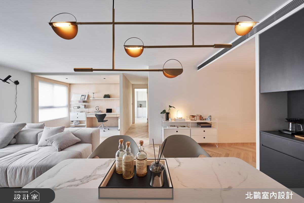 新成屋(5年以下)_北歐風客廳案例圖片_北鷗室內設計_北鷗_39Frame House之3