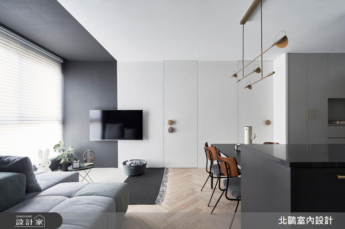 新成屋(5年以下)_北歐風客廳案例圖片_北鷗室內設計_北鷗_40Lugano House之4