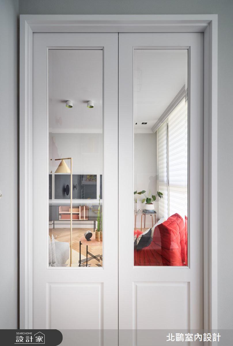 19坪新成屋(5年以下)_北歐風客廳案例圖片_北鷗室內設計_北鷗_43Princess House之5