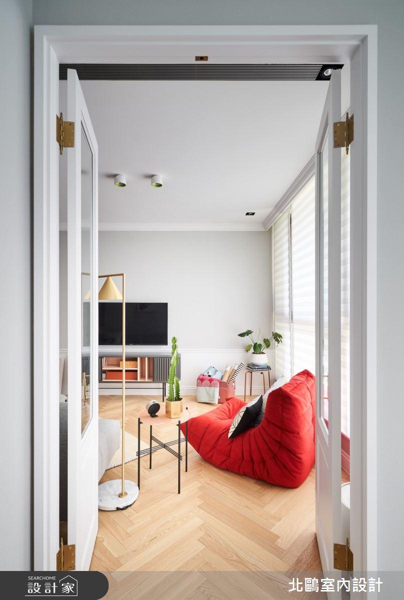 19坪新成屋(5年以下)_北歐風客廳案例圖片_北鷗室內設計_北鷗_43Princess House之6