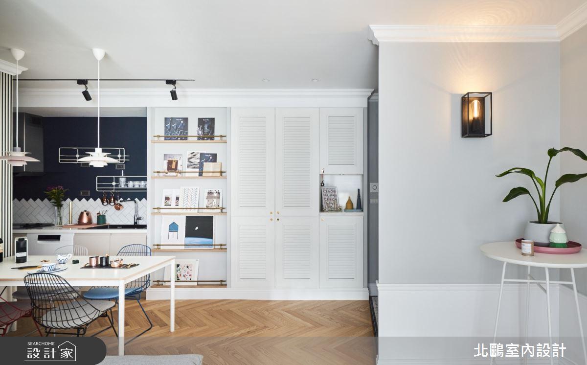 19坪新成屋(5年以下)_北歐風餐廳廚房案例圖片_北鷗室內設計_北鷗_43Princess House之11